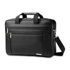 "Samsonite Business Laptop Briefcase 17-3/4""x4-1/2""x12-1/2"" Black 432691041"