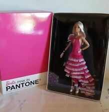SUPERBE BARBIE PINK IN PANTONE 2011 NRFB GOLD LABEL