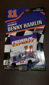 DENNY HAMLIN.. NASCAR AUTHENTICS.. 2020 WAVE 08 .. FEDERAL EXPRESS CAR .. #11