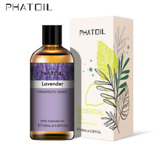 PHATOIL 100ml Aromatherapy Essential Oils Organic Oil Fragrances Diffuser Aroma