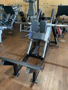 Hammer Strength Linear Hack Squat Machine