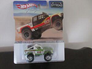 2012 Hot Wheels Off Road Racing Green custom Ford Bronco Real Riders (C4)#2