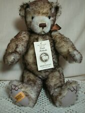 Vintage Merrythought Bear Jointed With Growler Brown Tipped Made in England