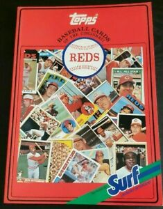 1987 Cincinnati Reds Surf Topps  1952-86