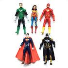 5 DC Justice League Batman Superman Wonder Woman Flash Action Figure Kid Boy Toy