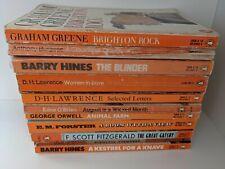 Job Lot! 11 Vintage Penguin Paperbacks inc Animal Farm & A Clockwork Orange