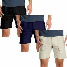 "New Mens Wrangler Cargo Shorts Hiker Spandex Stretch Cotton Pant Sizes 30""-48"""