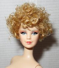 (B) NUDE BARBIE (B~ STRAWBERRY  BLONDE EFFIE TRINKET MACKIE MATTEL DOLL FOR OOAK