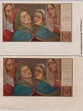 # MADONNA NELL'ARTE ediz. CHIATTONE- 2 CART. Dip.di B. LUINO- Lugano