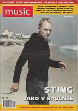 STING ENIGMA SEAL DAVID BOWIE Magazine MUSIC