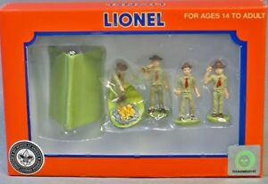 2012 Lionel 37828 Boy Scout Of America Vintage Scout Personaggi Nuovo IN The Box