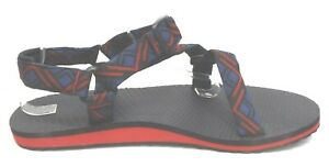 Columbia Size 14 Red Black Blue Sandals New Mens Shoes