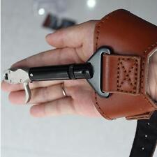 Archery Compound Bow Release Aids Gear Hardcore Buckle Cow Leather Adjust Wrist