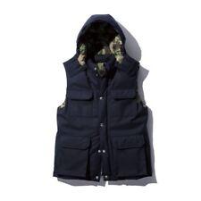 SOPHNET Navy Camo Hooded Vest Gilet Men Size L Visvim Wtaps NBHD Bape Fragment