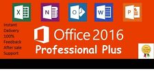 Microsoft Office 2016 Professional  Plus-5 PC Download Link-Key-Instant Delivery