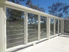 LOUVRE WINDOW GALLERY 720mm WHITE 5 louvre