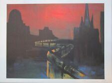 Rainer Fetting-offset litografía-Muro de Berlín-original firmado