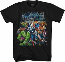 Marvel with Wings Adult Tee Graphic T-Shirt for Men Tshirt