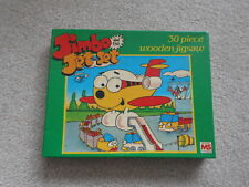 JIMBO AND THE JET SET vintage 30 piece wooden jigsaw puzzle MICHAEL STANFIELD