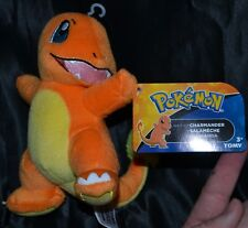 """7.5"""" Charmander #4 Pokemon Plush Dolls Toys Authentic Official TOMY New With Tag"""