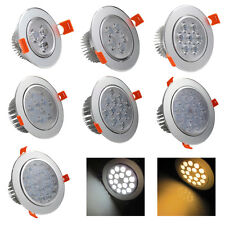 Dimmable Recessed Ceiling 3W 5W 7W 9W 12W 15W 18W LED Downlight Lights Lamps