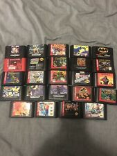 Sega Genesis Loose Games Pick from list Great Titles, Cart Only Start at $10+