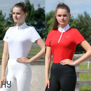 Hy Equestrian Scarlet Show Shirt – Soft breathable material – Moisture Wicking