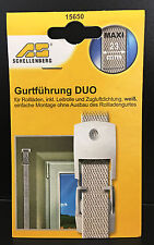 Schellenberg 15650 Gurtführung DUO System Maxi 23mm inkl. Leitrolle u. Dichtung