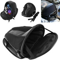 Motorcycle Tail Bag Back Seat Storage Carry Hand Shoulder waterproof Saddle Bag