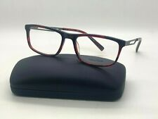 New Nautica N 8142 645 RED HORN Eyeglasses 56-18-140MM /CASE