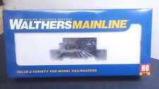 Undecorated Railroad Plymouth ML-8 switcher black stripes Walthers 910-20012 DCC