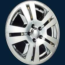 "FORD EDGE 17"" CHROME WHEEL SKINS LINERS (4 PIECES) 7367P-C 17"" HUBCAP"
