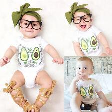 Newborn Kids Baby Boy Girls Infant Romper Jumpsuit Bodysuit Clothes Outfits Gift