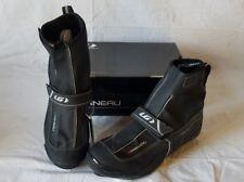 New Men's Louis Garneau Glacier Road Bike Shoes Black EU 44 1487131