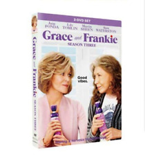 Grace and Frankie: The Complete Seasons 3 (DVD) Brand New & Sealed