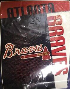 Atlanta Braves Plush Raschel Throw/Blanket