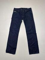 DIESEL SAFADO SLIM STRAIGHT Jeans - W30 L30 - Navy - Great Condition - Men's