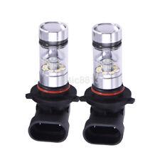 2x 9005 HB3 H10 6000K 100W LED Cree Projector Fog Driving Light Bulb Latest