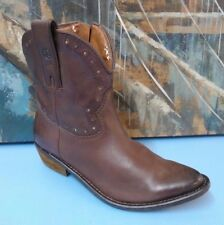Women's LUCKY BRAND Cowboy Western Ankle Boots Size 6 M