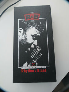 The R&B CD Box Set - Rhino - 30 Years of Rhythm & Blues - 6 CD's Used in VGC