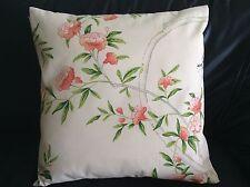 "Designer Guild ROSA Chinensis' Fabric Pillow Cushion Cover  100% cotton 18"" #3"