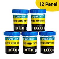 12 Panel Drug Test - Instant Urine Dip FDA APPROVED - 5 Pack