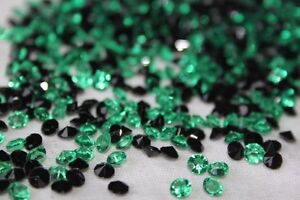 2000 x GREEN & BLACK 4.5MM HALLOWEEN DIAMOND CONFETTI TABLE DECORATION UK SELLER