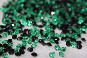 2000 x GREEN & BLACK 4.5MM HALLOWEEN DIAMOND CONFETTI TABLE DECORATION UK SELLER