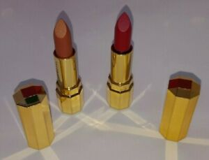 Jafra Royal Jelly Luxury Lipstick SET OF 2 1-Gilded Bronze 1-Besame Mucho