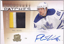 09-10 The Cup Phil Kessel /75 Auto Patch Signature Patches 2009