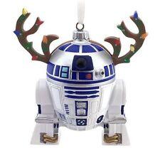 Star Wars R2D2 raindeer antlers Christmas Ornament by Hallmark Authentic 2015