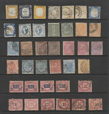 Italy c.1862 - 1878 collection, 38 stamps, mixed condition.