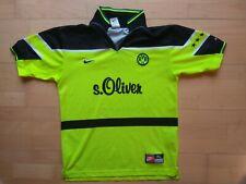 BVB Borussia Dortmund Vintage Trikot Jersey 1997-98 Sz. S (176) (Youth XL) NIKE