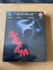 SCREAM STEELBOOK Blu-Ray UK RELEASE NEW & SEALED RARE WES CRAVEN HORROR